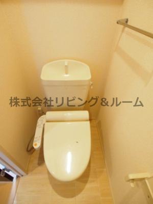 【トイレ】シュロス 蒲地 B