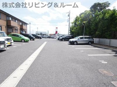 【駐車場】シュロス 蒲地 B