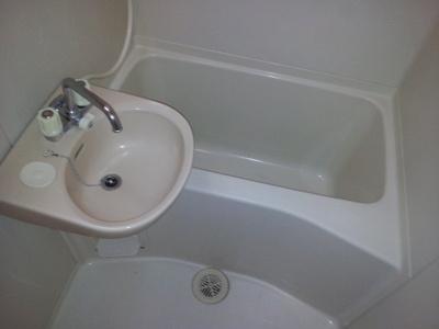 【浴室】レオパレス宿原