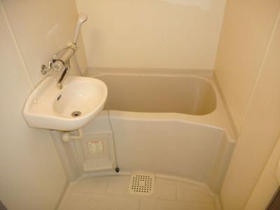【浴室】レオパレスやまゆり