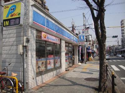 ローソン鶴橋駅前店まで205m