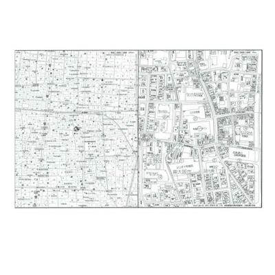 【地図】布施ハイライン