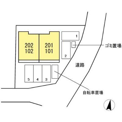 【区画図】メゾン・ド・ビーエー