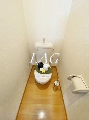 トイレです。(備品は付きません)
