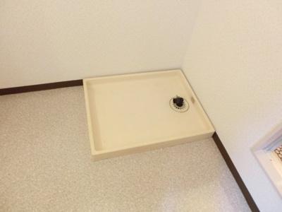 ◎同タイプ参考 洗濯機置き場のある洗面所です。