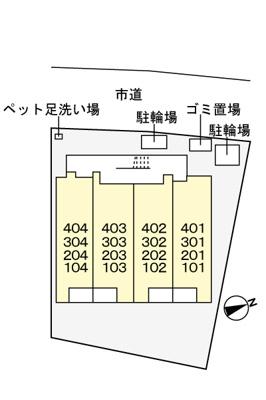 【駐車場】若柴マンション(026047101)