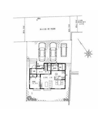 【区画図】ハートフルタウン宇都宮市野沢町3期 新築一戸建て