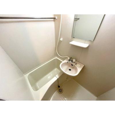 【浴室】レオパレスエバーグリーンA