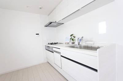 スッキリシステムキッチン♪ 食洗器はもちろん、浄水器もついています。