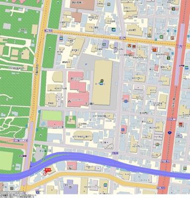 【地図】ガラ・ステージ芝公園駅前