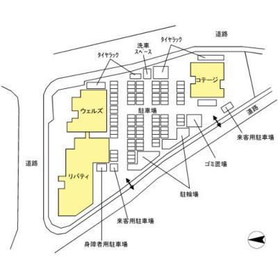【区画図】D'グラフォート盛岡駅前タワーズリバティ