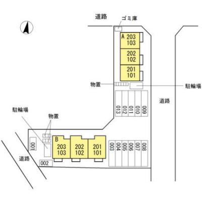 【区画図】コラール B