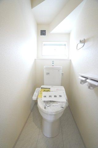 【同仕様施工例】1階 温水洗浄機能付きです。