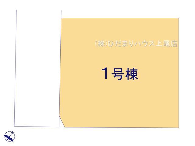 【区画図】桶川市下日出谷 新築一戸建て リーブルガーデン 01