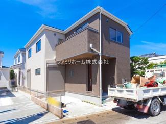 千葉市花見川区三角町 新築一戸建 ※外観施工例です。