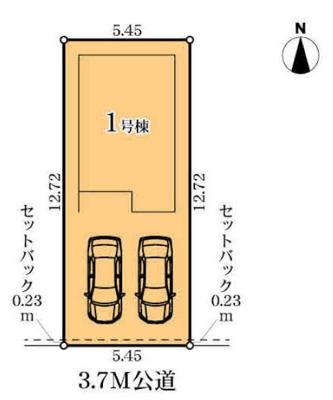 【区画図】MIRASUMO 中村区京田町第2期