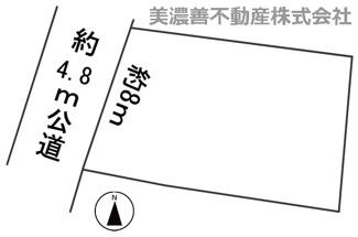 【区画図】57499 岐阜市野一色土地