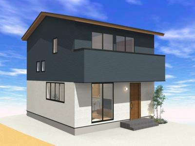 【外観】高知県高知市大津乙(西棟)新築住宅