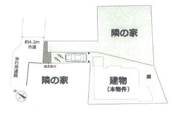 【区画図】中古戸建/富士見市鶴馬2丁目