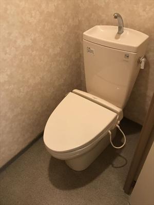 【トイレ】元麻布広々1LDK ミルキーハウス元麻布