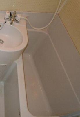 【浴室】イチブコーポ