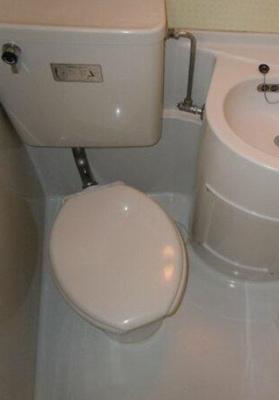 【トイレ】イチブコーポ