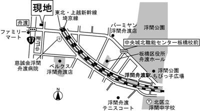 【地図】ラ ルーチェ