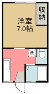 秋田県由利本荘市薬師堂谷地一棟アパート