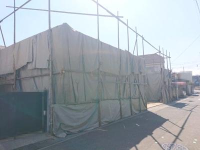 耐震等級3の4LDK新築住宅です!完成までしばらくお待ちくださいね…♪(2021年10月7日撮影)