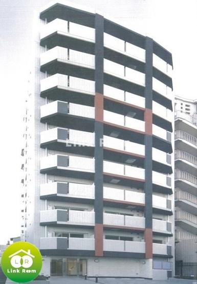 【外観パース】ラヴィリオ錦糸町ベルグレード
