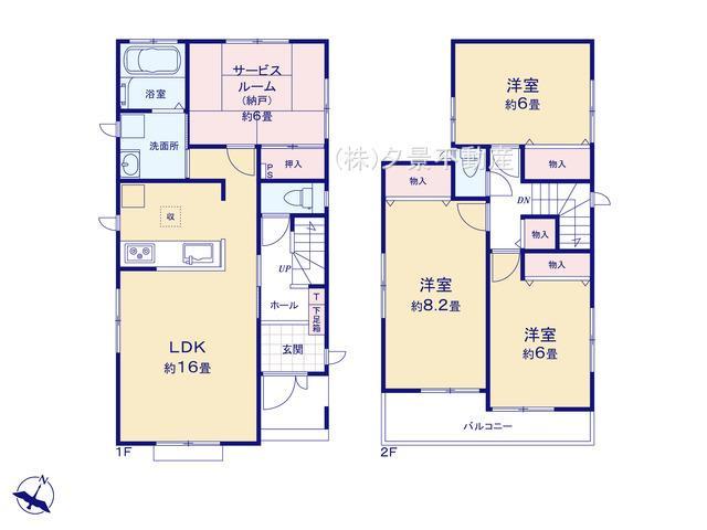 【区画図】緑区東浦和2丁目28-42 (2号棟)新築一戸建てハートフルタウン