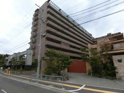 【外観】ライオンズマンション上野芝駅前