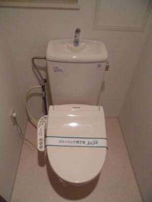 【トイレ】ライオンズマンション上野芝駅前