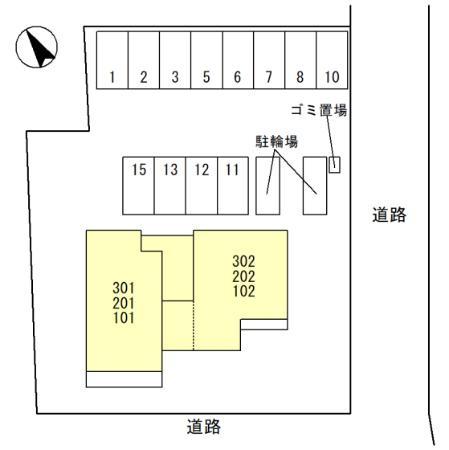 【区画図】ミル・クレール和歌浦シーサイドヴィラ
