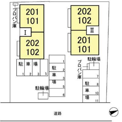 【区画図】グリーンパークⅡ