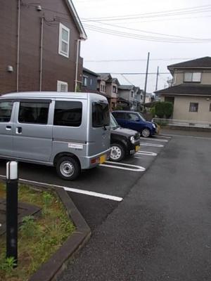 【駐車場】ポライトリー ガーデンA棟