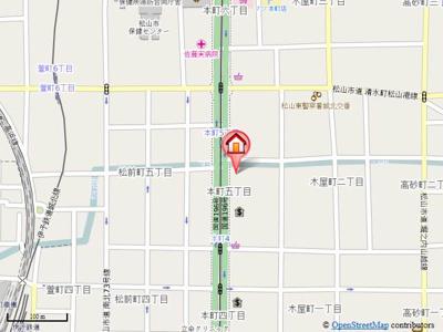 【地図】ブルーランド本町