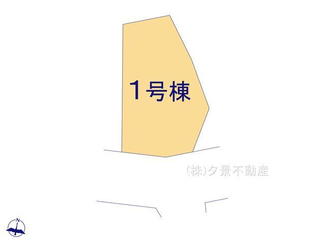 【区画図】西区三条町158 新築一戸建てリーブルガーデン