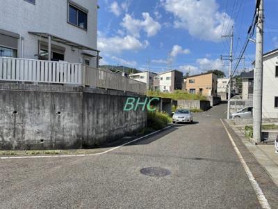 【前面道路含む現地写真】南郷上山町