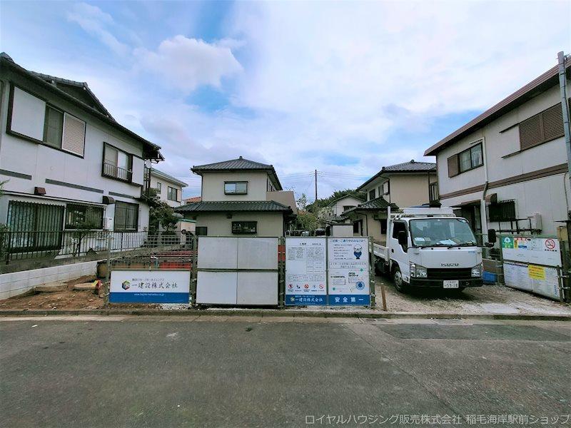 千葉市花見川区三角町の新築一戸建の画像