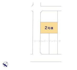 【区画図】新築《全4棟》新潟市西区松海が丘第2 2号