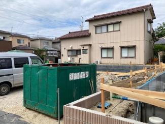 【前面道路含む現地写真】新築《全4棟》新潟市西区松海が丘第2 2号