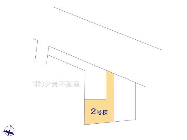 【区画図】川口市東本郷1290(2号棟) 新築一戸建て