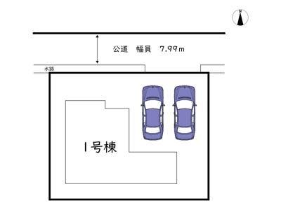 【区画図】姫路市広畑区小松町 第6/全1棟