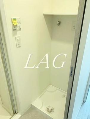 室内洗濯機置き場です。