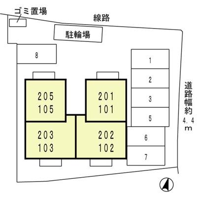 【区画図】パーチェ寿