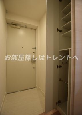 【玄関】カーサスプレンディッド日本橋水天宮
