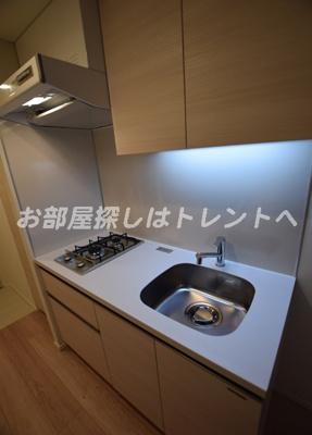 【キッチン】カーサスプレンディッド日本橋水天宮