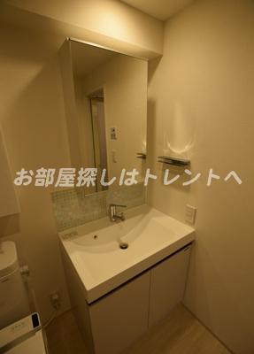 【独立洗面台】カーサスプレンディッド日本橋水天宮