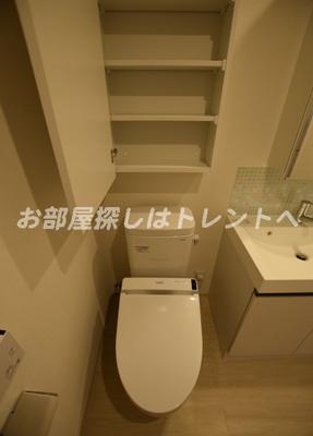 【トイレ】カーサスプレンディッド日本橋水天宮